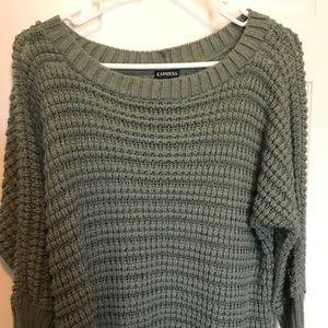 Sea foam green sweater